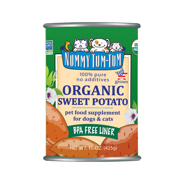 100% Pure Organic Sweet Potato, 15oz