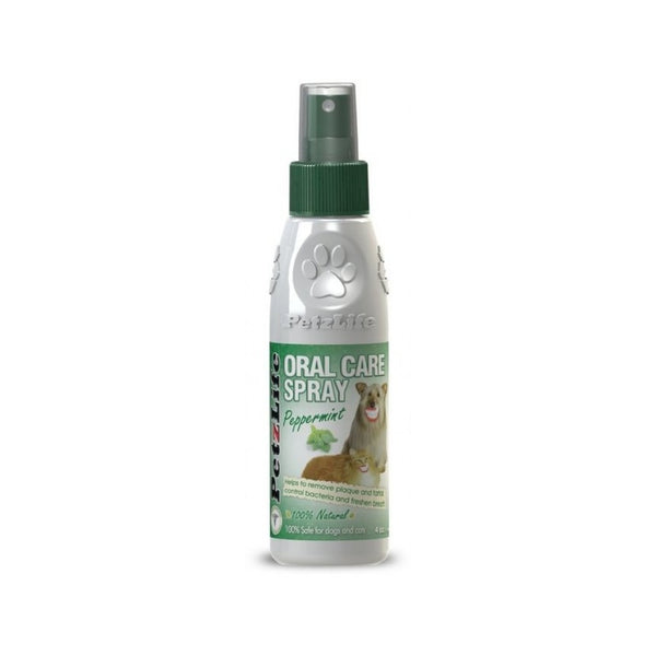 Oral Care Spray Peppermint, flavor: 4oz