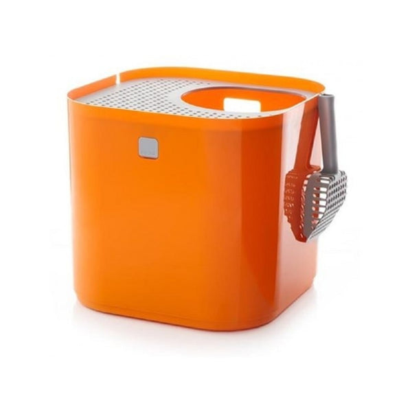 Modkat Litter Box, Color: Orange