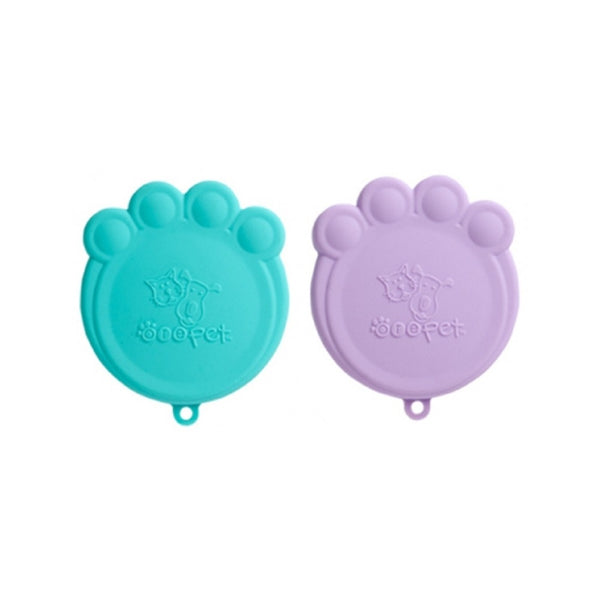Ore Pet Can Cover S/2, Aqua & Purple