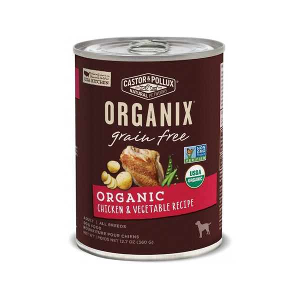 Organic Grain Free Chicken & Vegetable Weight : 12.7oz