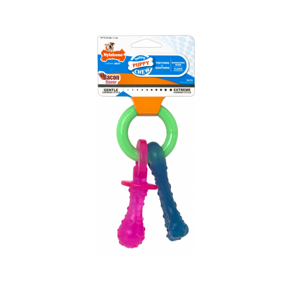 Puppy Teething Pacifier Size : XS