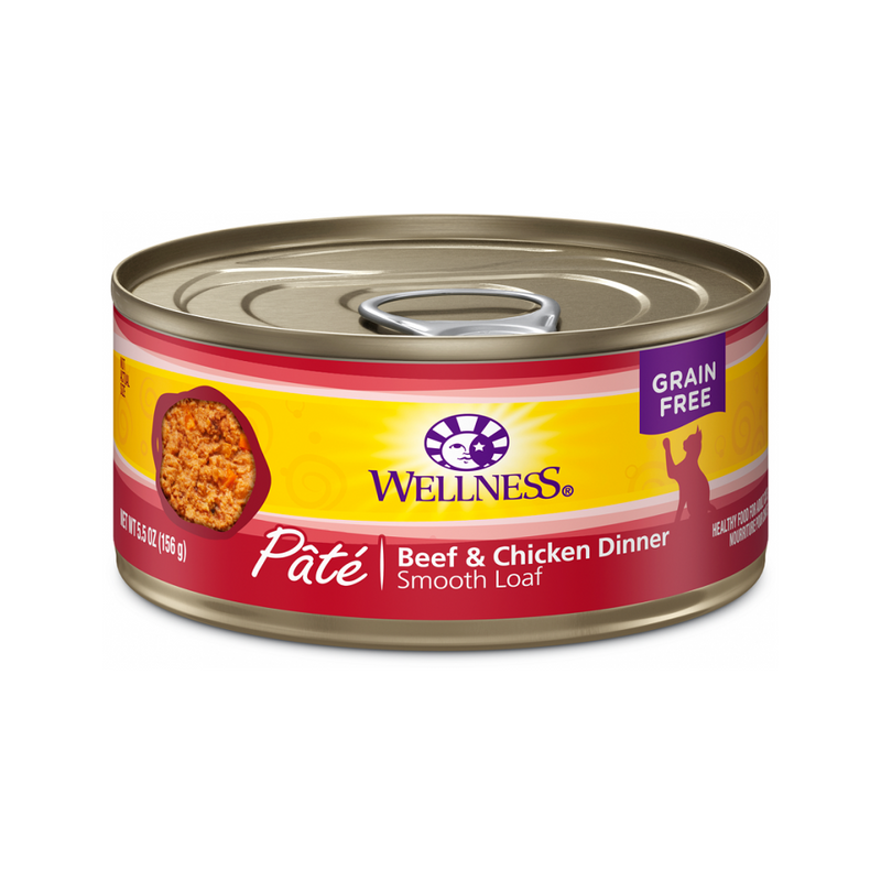 Pate Smooth Loaf Beef & Chicken Dinner, 3oz
