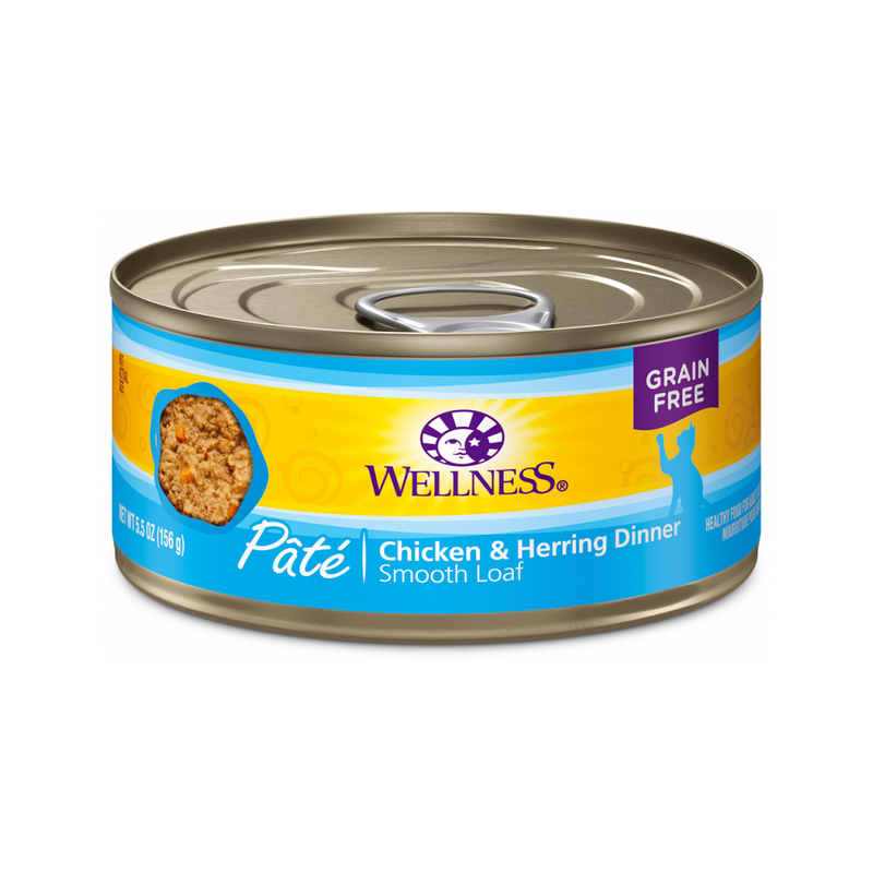 Pate Smooth Loaf Chicken & Herring Dinner, 3oz