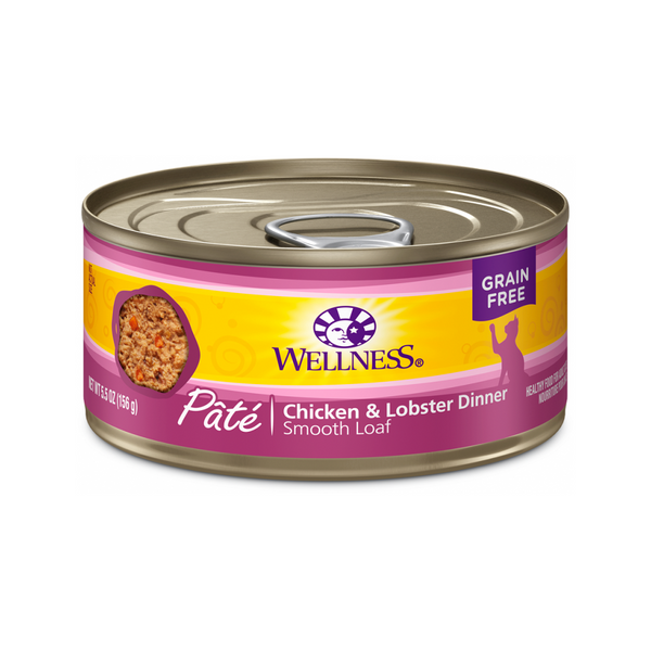 Pate Smooth Loaf Chicken & Lobster Dinner, 3oz