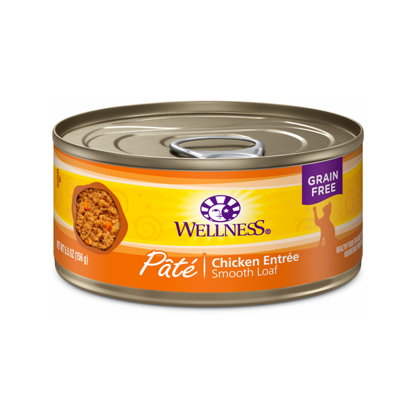 Pate Smooth Loaf Chicken Entree Weight : 3oz