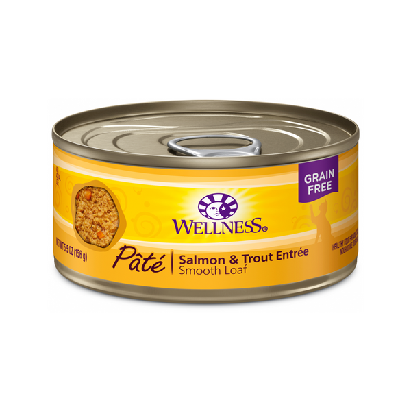 Pate Smooth Loaf Salmon & Trout Entree, 3oz