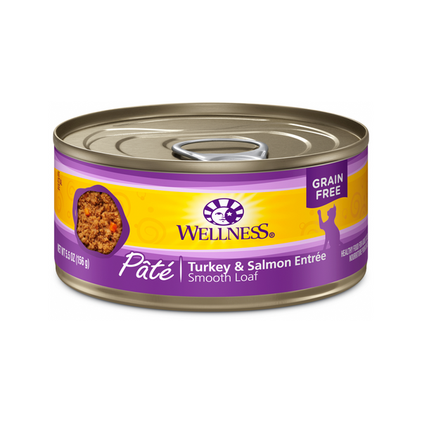 Pate Smooth Loaf Turkey & Salmon Entree, 3oz