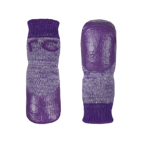 Pawks Heather Color : Purple, Size : XLarge