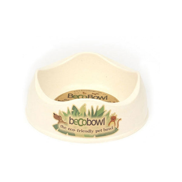 Eco-Friendly Pet Bowl Color : Natural Size : Small 6.6""