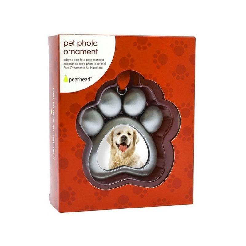 Pet Photo Ornament - Paw
