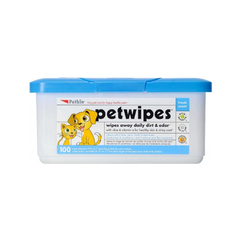 PetWipes Count, 100 wipes