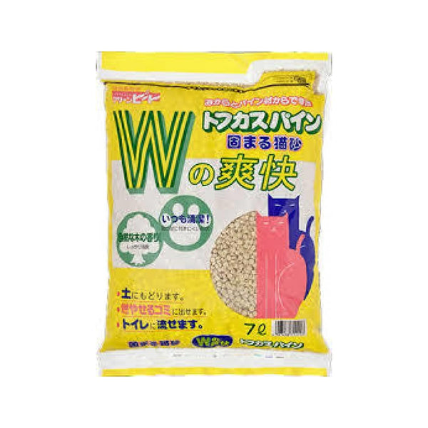 Tofu Cat Litter - Unscent Weight : 7L