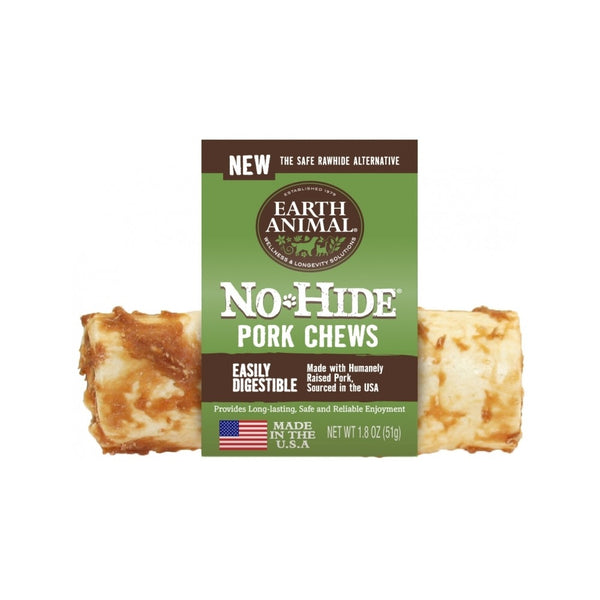 "No Hide Pork Chews, 4"" x 1"