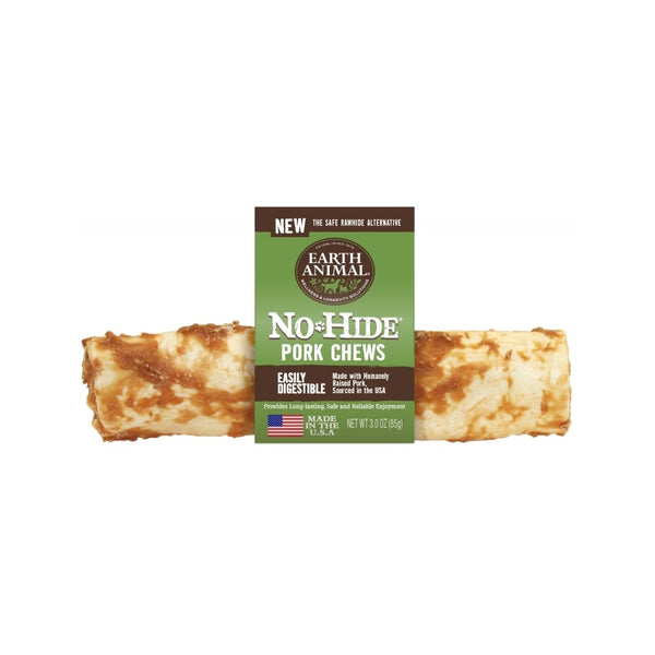 "No Hide Pork Chews, 7"" x 1"