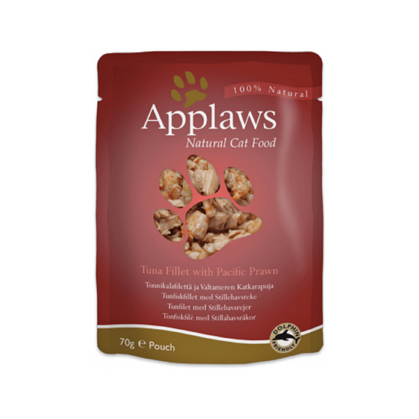 Tuna w/ Prawn Pouches Weight : 70g