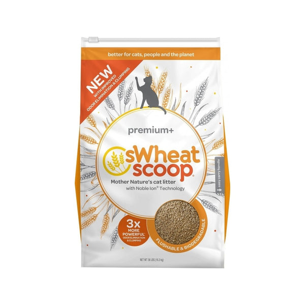 sWheat Scoop Premium Cat Litter, 36lb
