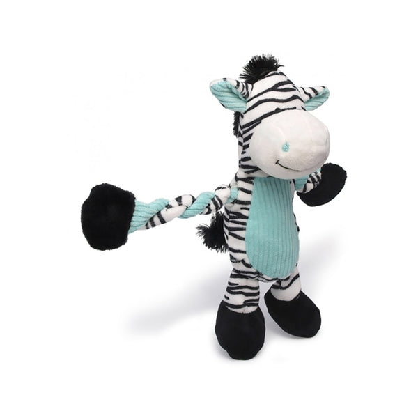 Pulleez, Zebra Cuddle Toy For Dogs