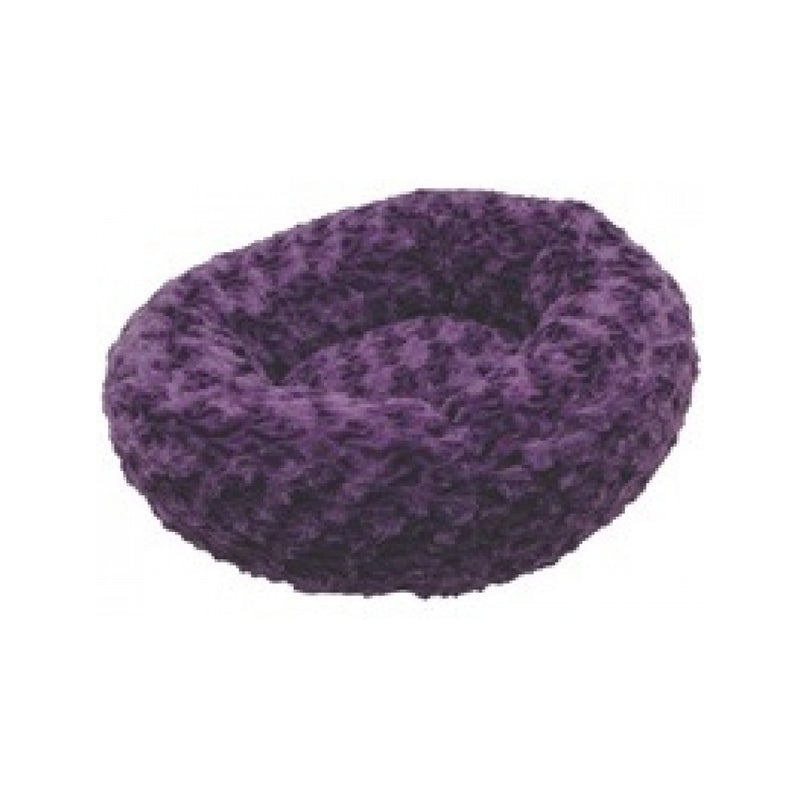 Donut Cat Bed Color : Purple