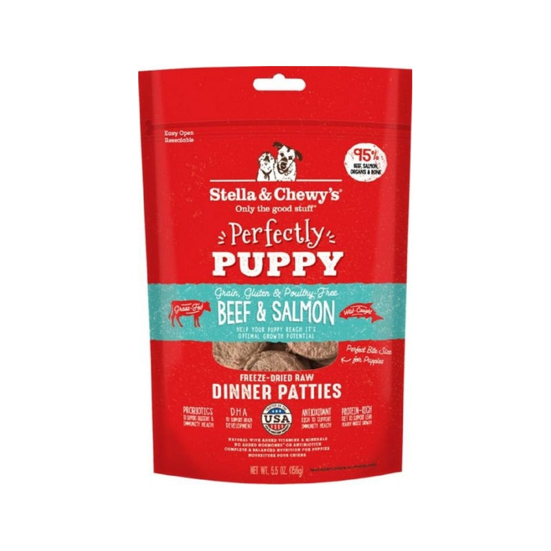 Puppy Freeze-Dried Dinners - Beef & Salmon Weight : 5.5oz