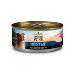 PURE Chicken & Tuna in Gravy for Dogs Weight : 5.5oz
