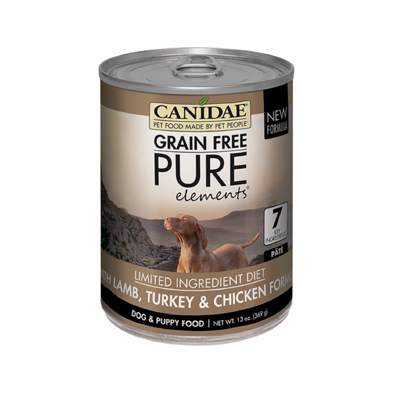 pureELEMENTS, Lamb, Turkey  & Chicken for Dogs, 13oz