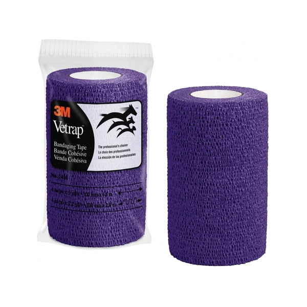 Vetrap Bandaging Tape, Color Purple, 4""