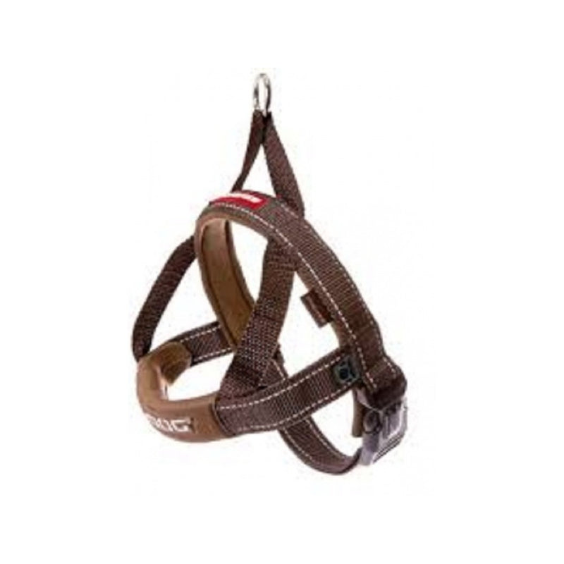 Quick Fit Harness Color : Chocolate Size : Small