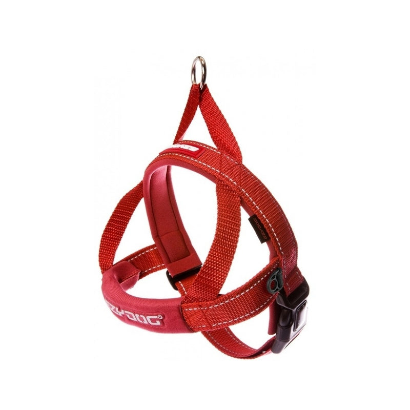 Quick Fit Harness, Color Red, Medium