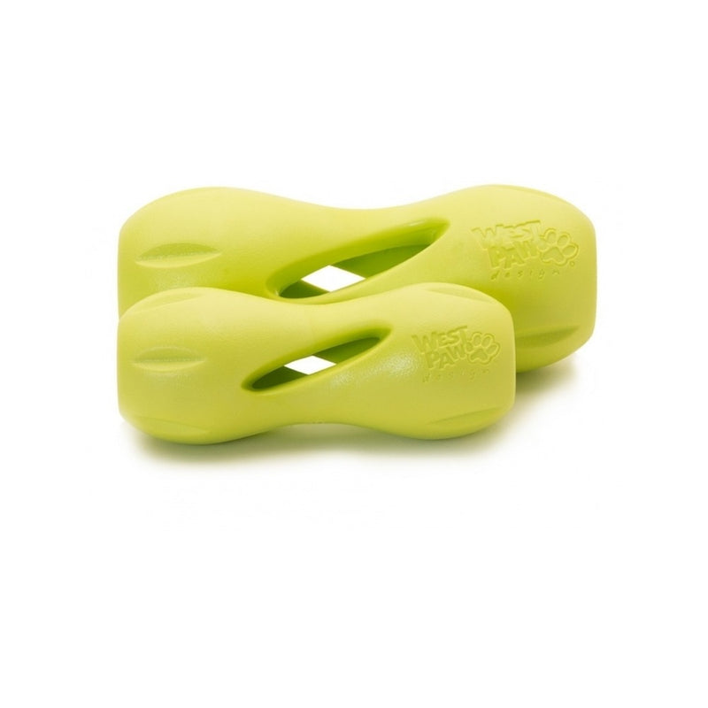 Qwizl Treat Toy, Color Green, Small