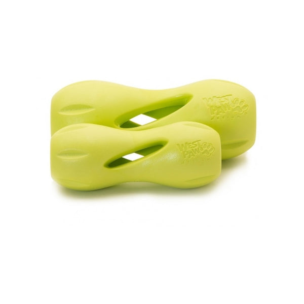 Qwizl Treat Toy, Color Green, Large