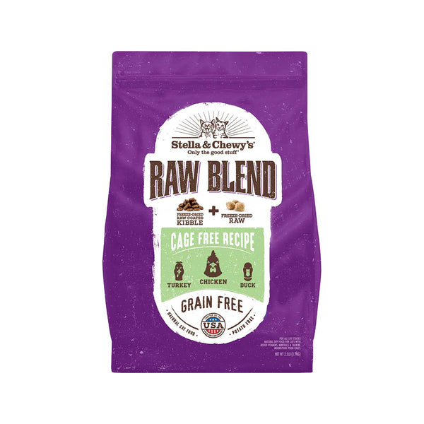 Feline Raw Blend Cage Free Recipe, 2.5lb