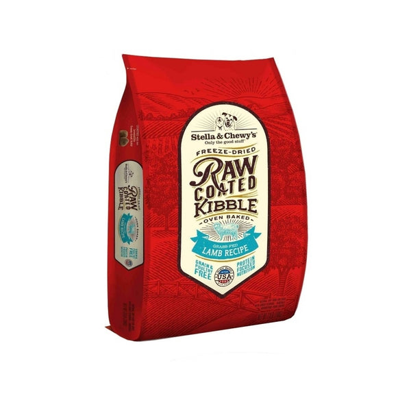 Grass-Fed Lamb Raw Coated Kibble, 22lb