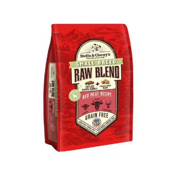 Raw Blend Small Breed Red Meat Recipe, 3.5lb