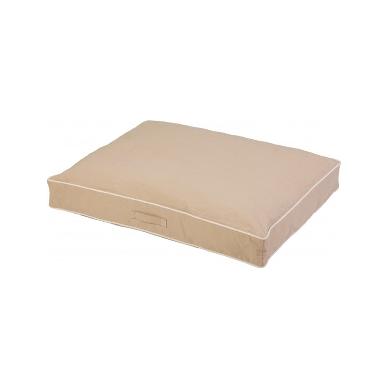 Rectangle Bed Size : Large Color : Sand