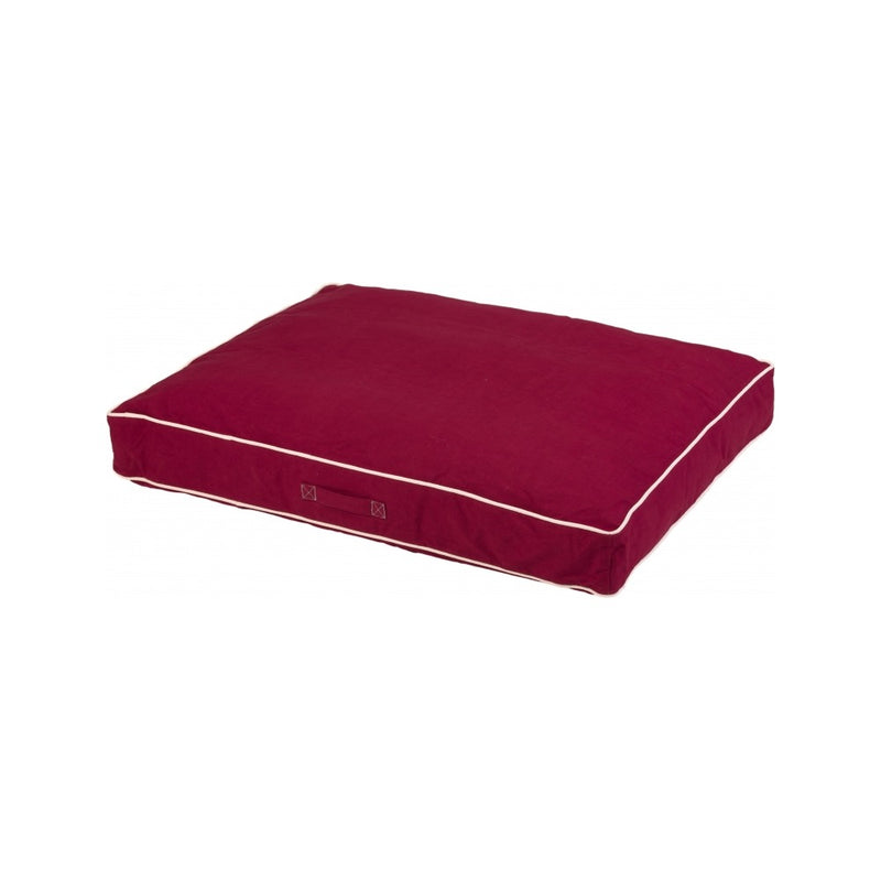 Rectangle Bed Size : XLarge Color : Berry