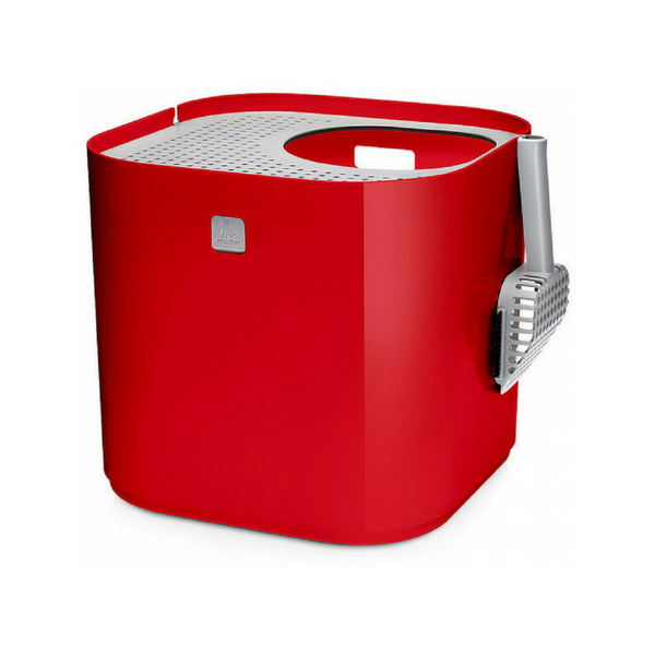 Modkat Litter Box, Color: Red
