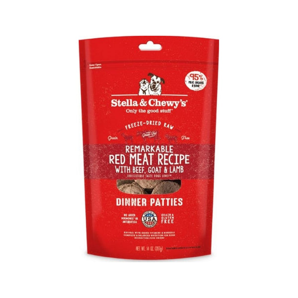 Freeze-Dried Dinners - Red Meat Weight : 14 oz