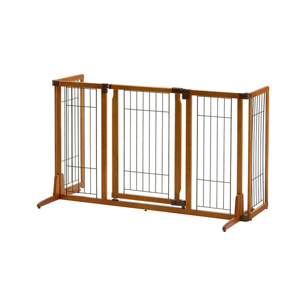 Freestanding High Gate (w/ Door) 85.5cm - 160cm x 81Hcm