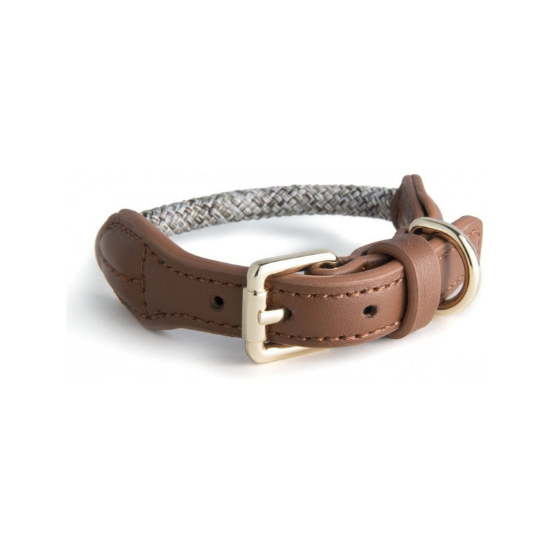 Rope Collars Metropolitan Collection, Color Beige, Small 33-40cm