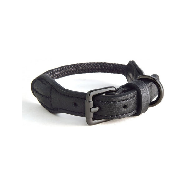 Rope Collars Metropolitan Collection, Color Charcoal, Small 33-40cm