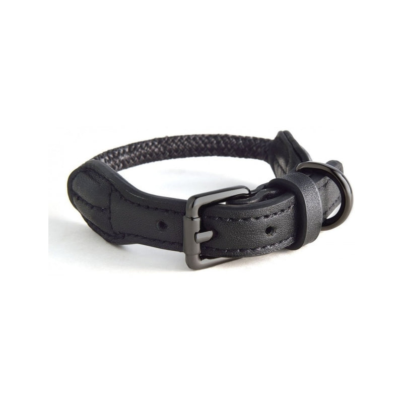 Rope Collars Metropolitan Style, Color Charcoal, Medium 40-47cm