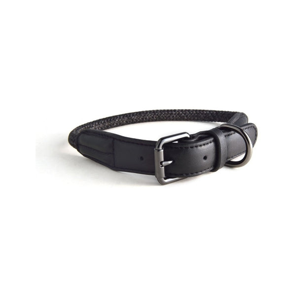 Rope Collars Metropolitan Collection, Color Charcoal, XS 28-33cm