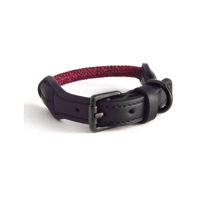 Rope Collars Metropolitan Collection, Color Red, Large 47-54cm