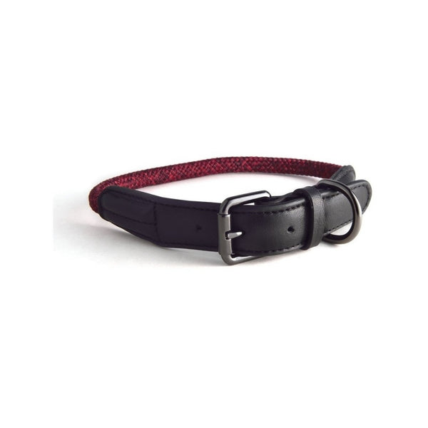 Rope Collars Metropolitan Collection, Color Red, XS 28-33cm