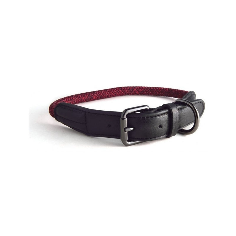 Rope Collars Metropolitan Style, Color Red, XXS 23-28cm