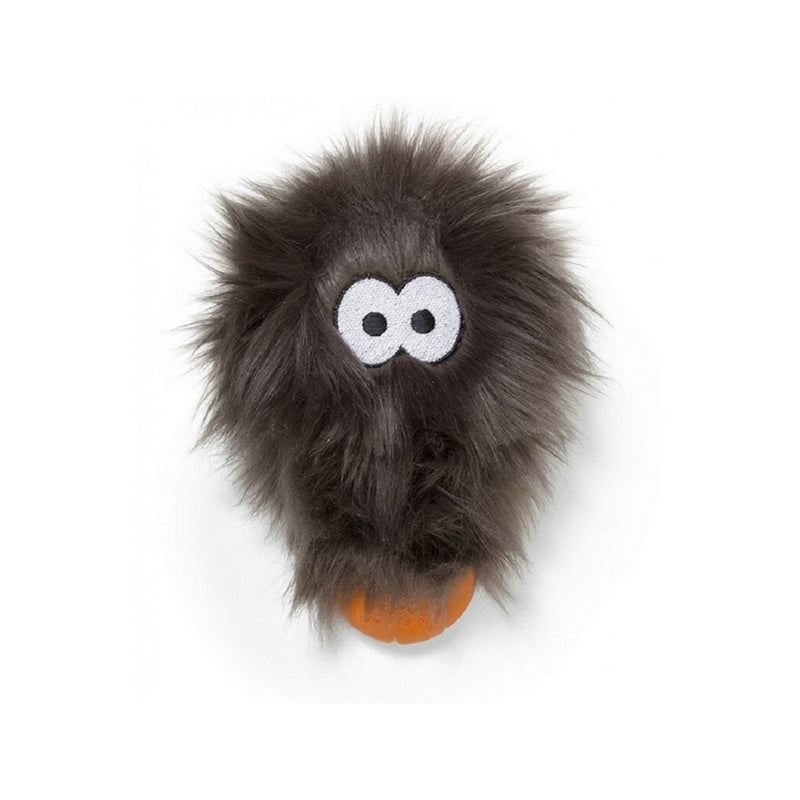 Rowdies Rosebud Cuddle Toy For Dog, Color: Pewter Fur