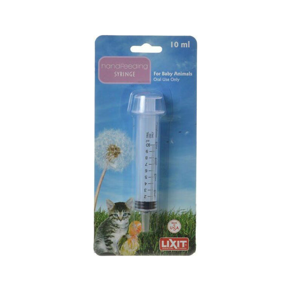 Lixit Hand Feeding Syringe 10ml