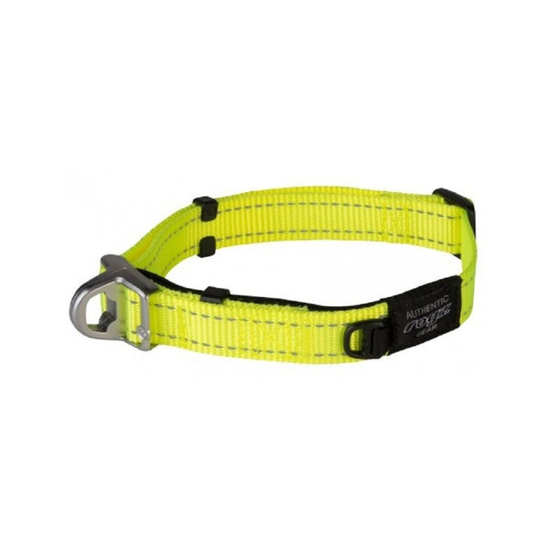 Safety Collar, Color Dayglow Yellow, Large
