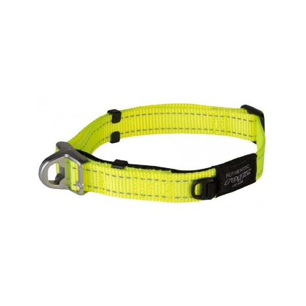 Safety Collar, Color Dayglow Yellow, Medium